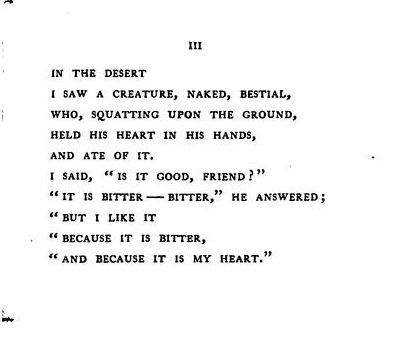 from In The Desert, by Stephen Crane.
