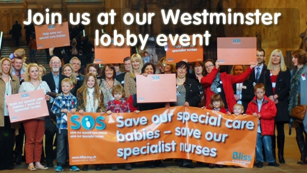 Join us at our SOS campaign in London. House of Commons, Westminster lobby day