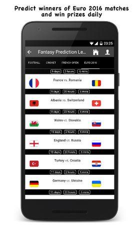 Predict sports matches