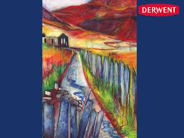 Cwmorthin Commission for Derwent Art Bar by Bev Dunne