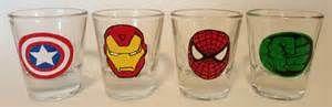 Search Superhero shot glasses set. Views 83438.