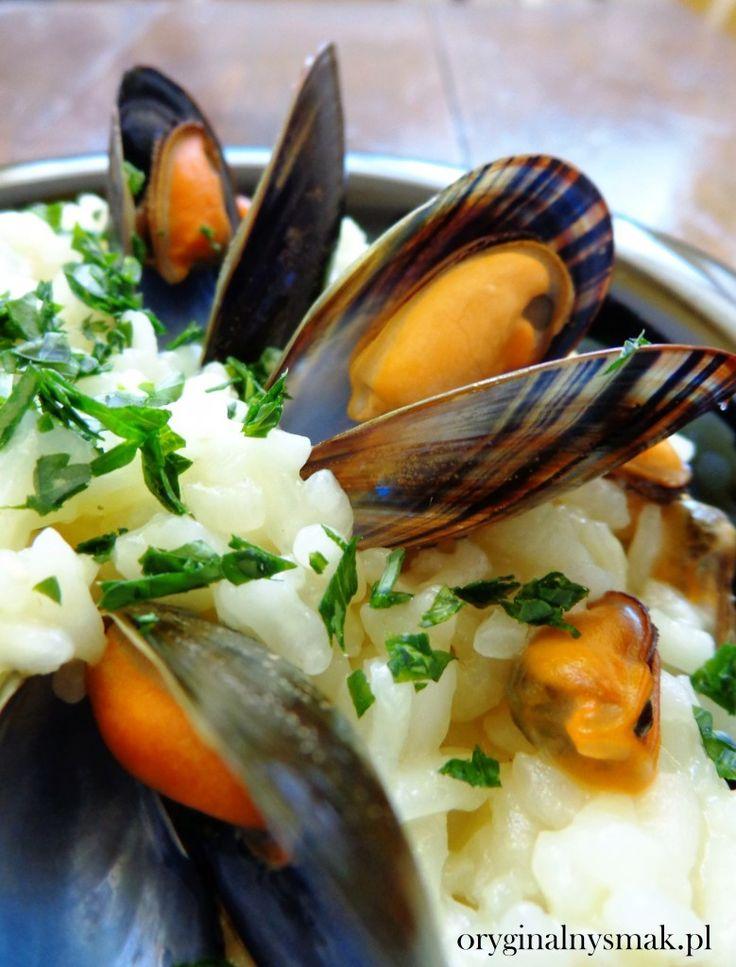 Risotto z małżami (risotto di vongole)