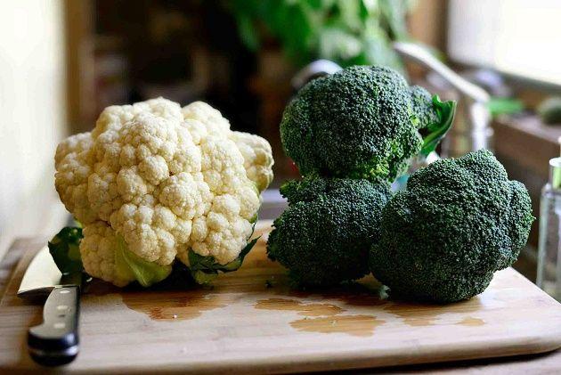 Super Skin Foods - Cauliflower and Broccoli