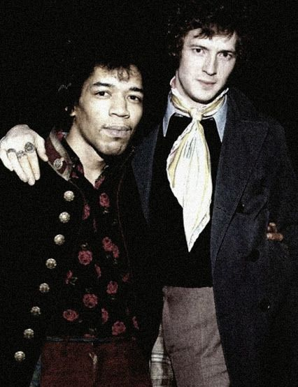 Эрик Клэптон и Джими Хендрикс - 1967