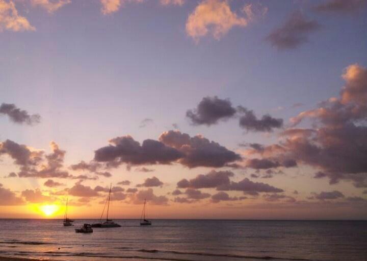 Sunset at Tangalooma