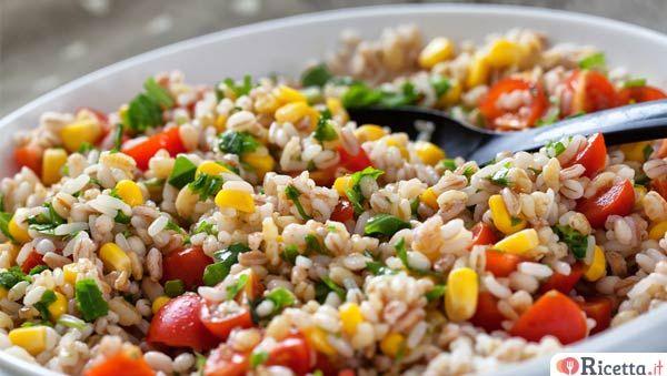 3 insalate fredde di farro