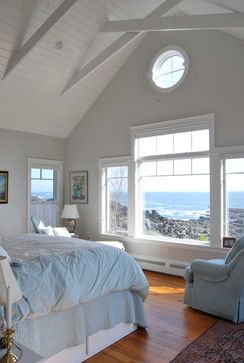 Home by the Sea - beach-style - Bedroom - Portland Maine - WHIPPLE | CALLENDER ARCHITECTS