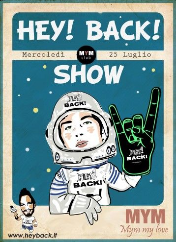 HEY! BACK! in Space