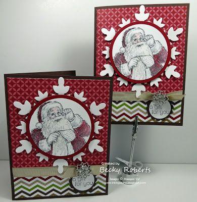 Inking Idaho: Snowflake Santa's List