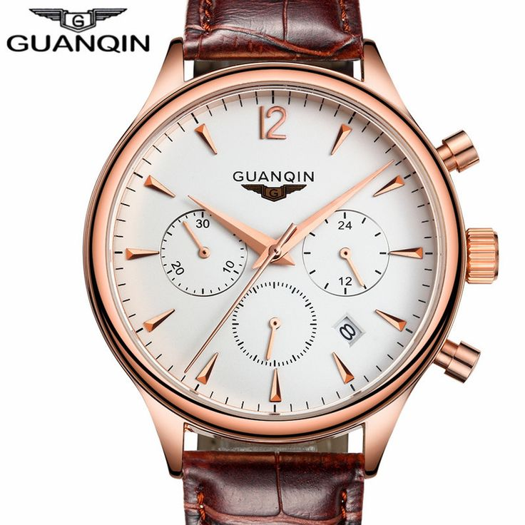 GUANQIN Relogio Masculino Mens Watches Top Brand Luxury Wristwatch Men Sport Leather Strap Quartz Watch Montre Homme     Tag a friend who would love this!     FREE Shipping Worldwide     Buy one here---> https://shoppingafter.com/products/guanqin-relogio-masculino-mens-watches-top-brand-luxury-wristwatch-men-sport-leather-strap-quartz-watch-montre-homme/