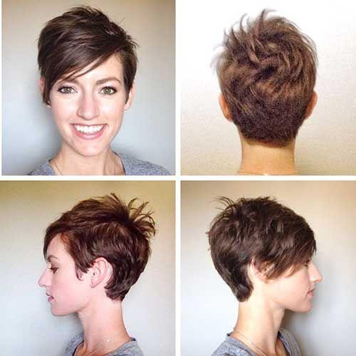 20 Brown Pixie Cuts - Love this Hair