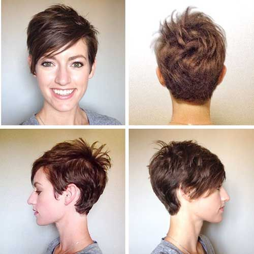 20 Brown Pixie Cuts - Love this Hair