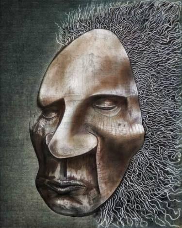 """Saatchi Art Artist Szilárd Juhász; Painting, """"""""Swirling Mind"""""""" #art"""