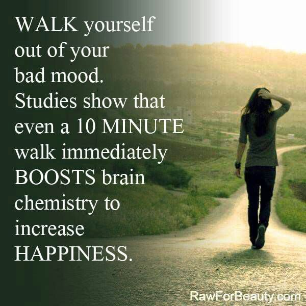 Get Out Of A Bad Mood - Go For A Walk