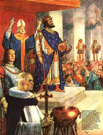 a history of the charlemagne family Charlemagne was the first holy roman emperor  history of the vikings 7:00  who was charlemagne - biography, family tree & accomplishments.