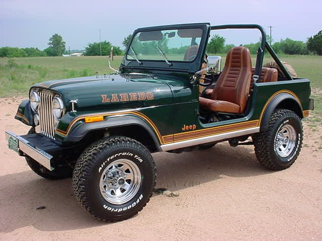 Sherwood Green CJ-7 Laredo