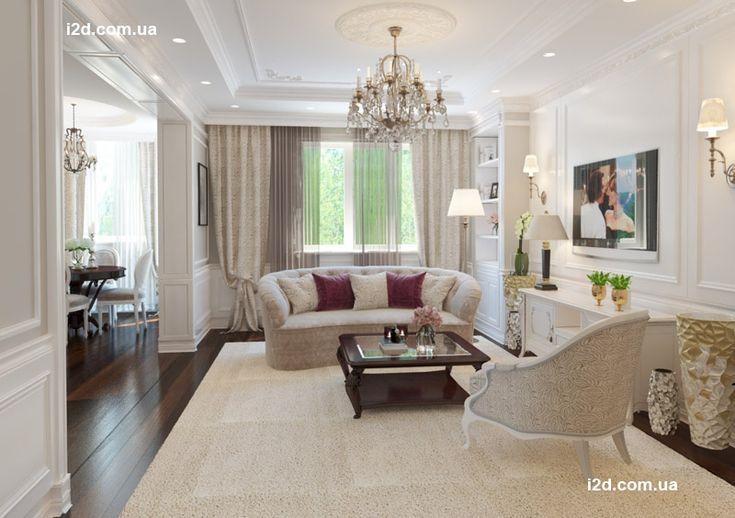 Интерьер квартиры во французском стиле