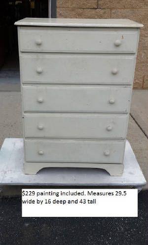 Vintage Rustic Dresser · Unfinished FurniturePainted ...