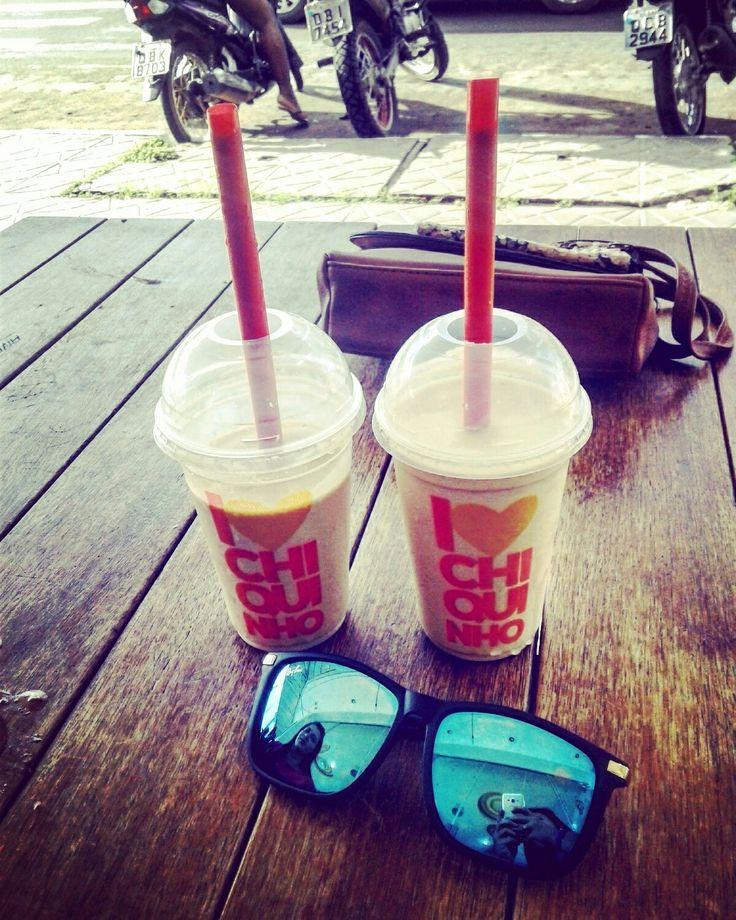 #Chiquinho #calor #milkshake # #sorvete #mt