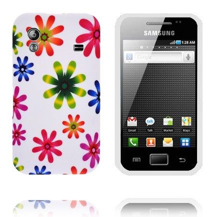 Symphony (Regnbue Blomster) Samsung Galaxy Ace Cover