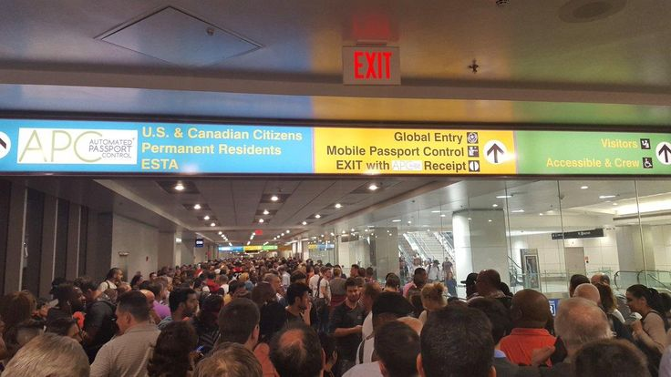 Customs and Border System Outage Stalls Travelers at Multiple Airports - NBC Connecticut
