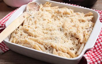 A Creamy Tuscan Cheese Pasta, a quick and easy recipe the family will love!