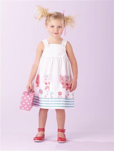 Robe transformable blouse spéciale maternelle ROSE VIF+BLANC - vertbaudet enfant