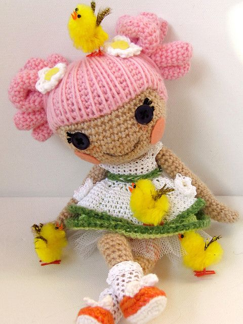 Lalaloopsy, i like her hair: Crochet Dolls, Dolls ...