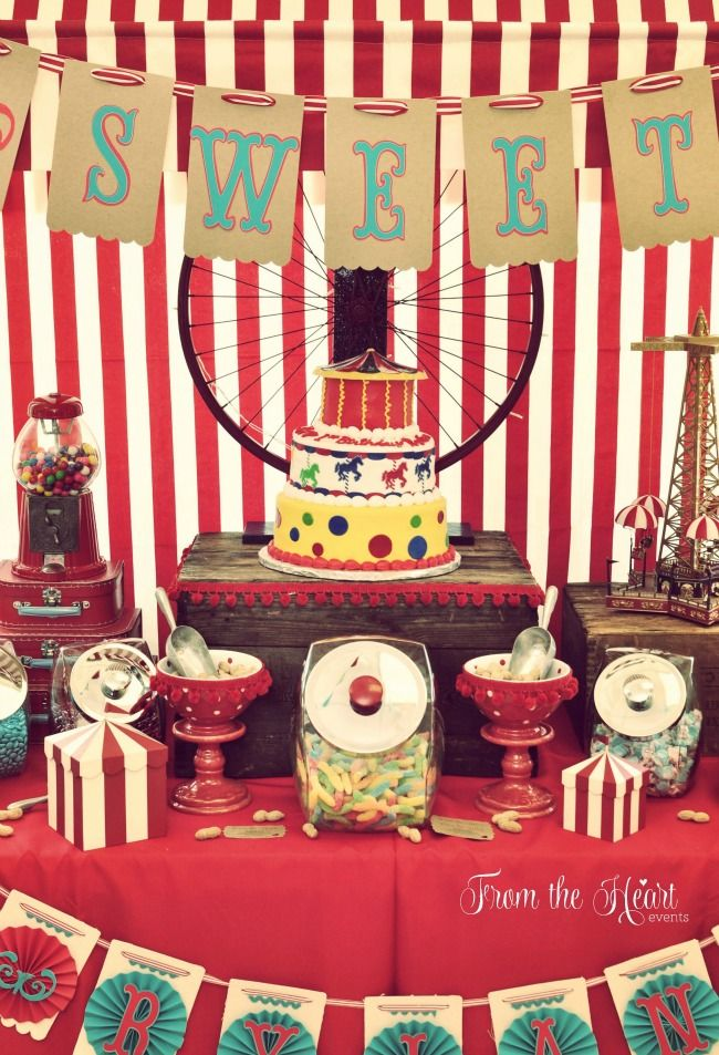 25 best ideas about vintage circus party on pinterest circus theme party circus party and - Carnival party menu ...