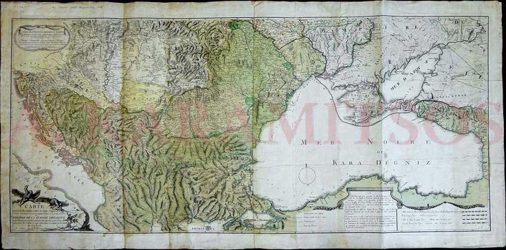 """Maire Francois Joseph, """"Carte générale des limites entre les trois empires"""