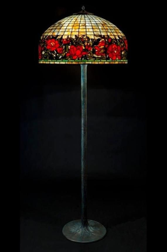 Bespoke Glass Floor Lamp Stained Glass Lamp Tiffany Lamp