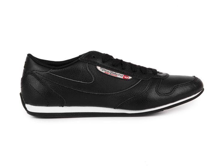 Diesel Dámské kožené tenisky SHECLAW W / černá