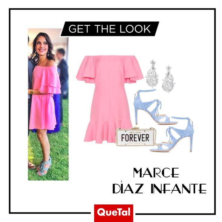 GET THE LOOK  Marce Díaz Infante