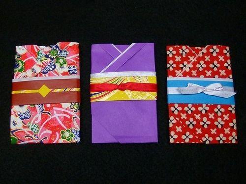 着物のぽち袋(折り紙で作る)の作り方|折り紙|紙小物・ラッピング|ハンドメイドカテゴリ|アトリエ