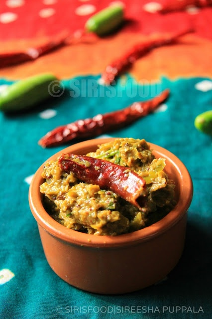 Chutney with bottle gourd and tomato