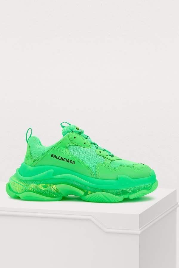 balenciaga neon green