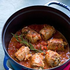 Découvrez la recette paupiettes napolitaines sur cuisineactuelle.fr.