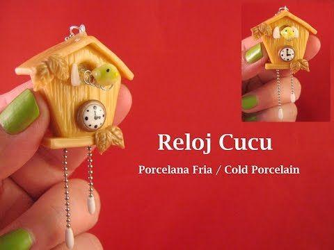 Reloj Cucu en Porcelana Fria / Cold Porcelain - YouTube