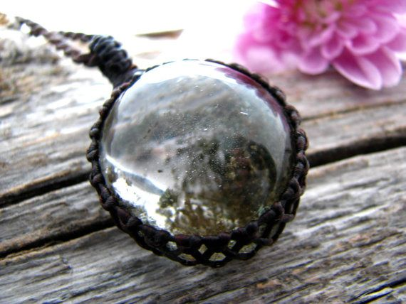 Garden Quartz Necklace / Quartz necklace / Woodland jewelry / Terrarium necklace / Naturalist / Gift Idea  / Fairy jewelry / November finds
