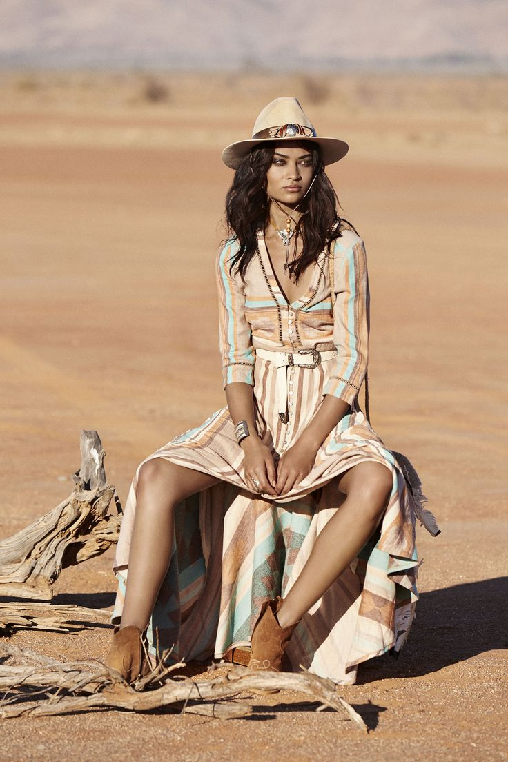 Spell & The Gypsy Collective Revolver | Shanina Shaik in Peyote Gown