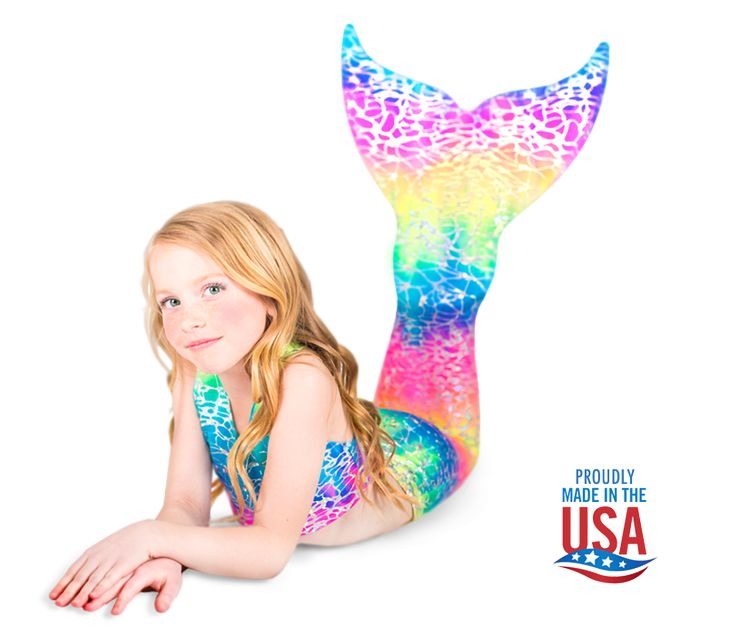 Swim like a Mermaid with Swimmable Mermaid Tails made by Swimtails. Choose from a variety of colors and patterns. Start living your Mermaid Dreams Today!