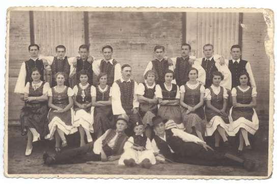 Olvasóköri színjátszók az 1930-as években