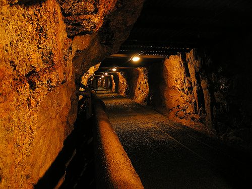 Drift of Harrachov Mine