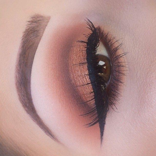 @makeupby_krystal #bronze #smokey #eyes #cutcrease #makeup #ShareIG