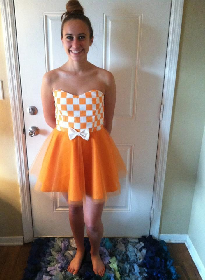 Tennessee Vols Game Day Dress by DesiraeDanielle on Etsy, $75.00