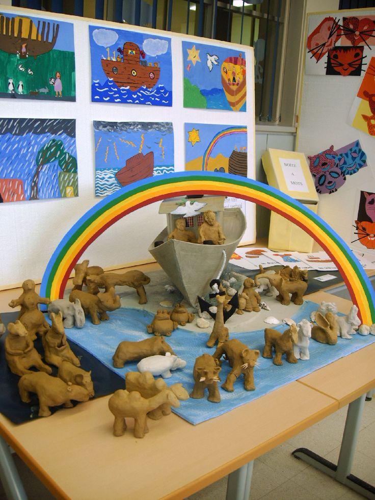 De ark van Noach:dieren in klei
