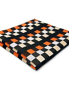 Foulard e ascot Uomo Vintage / Romantico / Da serata / Da ufficio / Casual,Per tutte le stagioni Arancione Rayon A scacchi