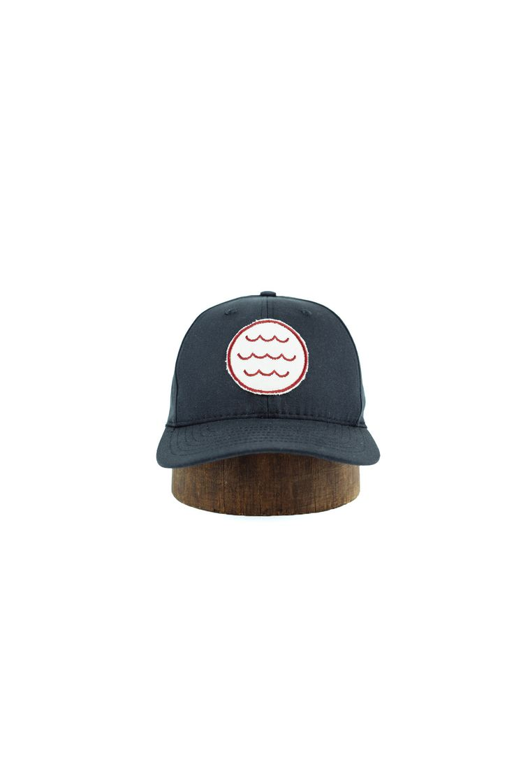 Circles, sets of three, these are powerful things. When put together it's almost too much awesome. The patches for these hats are made in San Francisco on vintage embroidery machines. - Made in the US