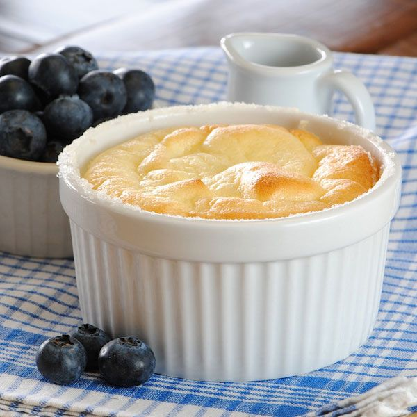 Suflé de Yogur Griego