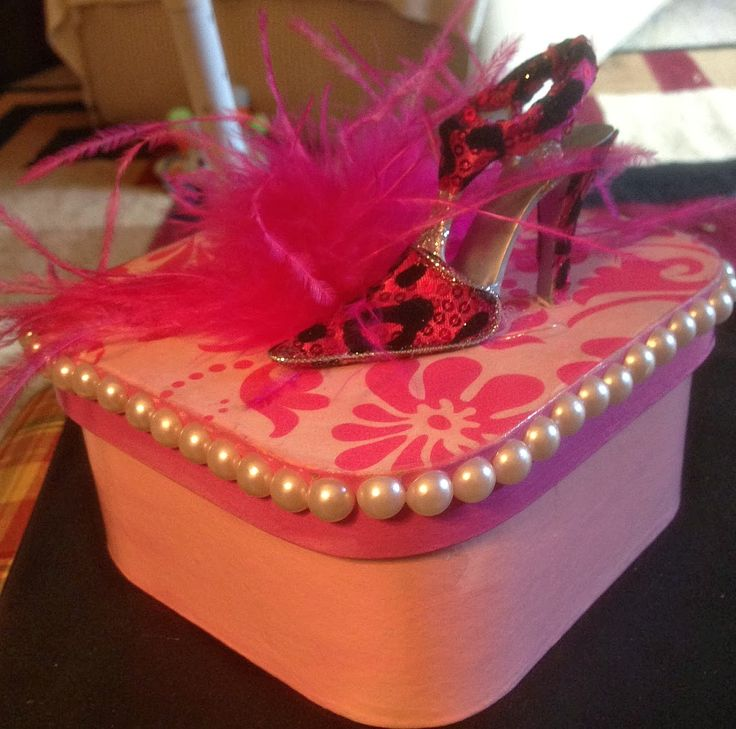 How To Make A Gift Box From Scrapbook Paper